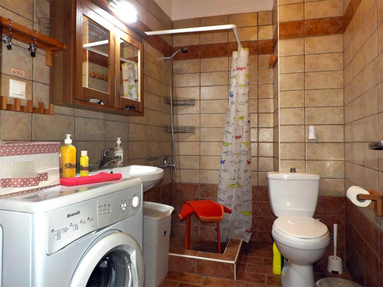 The bathroom - washing machine