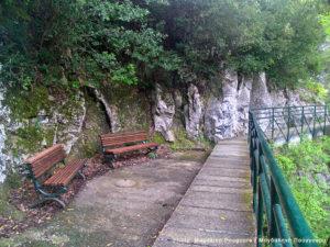 Hiking path, Litochoro