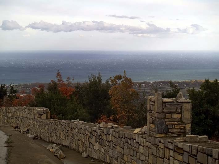 View to Aegean sea - Θέα στο Αιγαίο